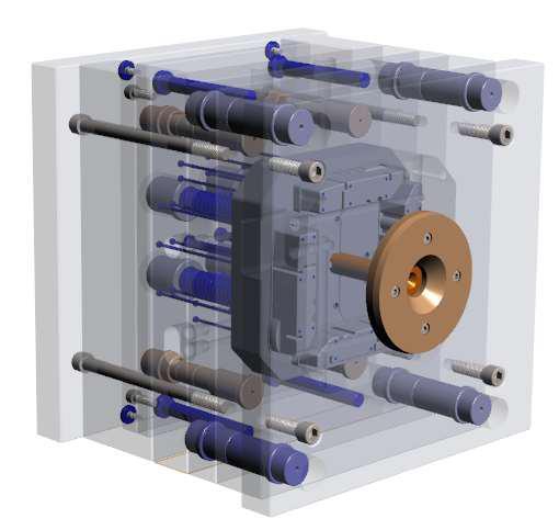 Construção de moldes plásticos