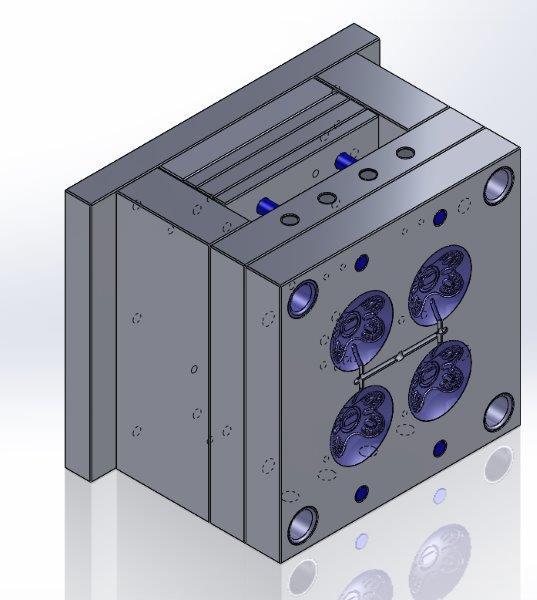 Matrizes e moldes para injeção de plásticos
