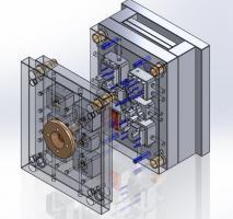 Fabricação de moldes para injeção de plásticos