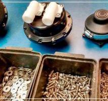 Industria de injeção de peças plasticas